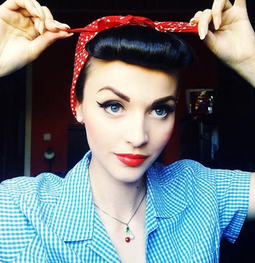 Top Trucco anni 50: come diventare una pin up   Make Up HJ49